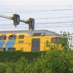 trein onderlangs