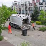 vuilnisauto - Tulastraat